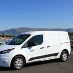 Camper Ford Connect Transit in Iceland