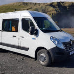 Camper Iceland - Renault Master - Parked near Skogafoss Waterfall (2)