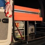 Camper Renault Kangoo - Overview of Camping Equipment